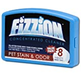 Fizzion Original Concentrated Cleaner Refill Tablets, 8-Pack Hard Case
