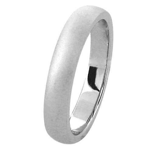 Inox Jewelry Rings 316L Stainless Steel Wedding Bands - Size 7
