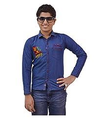 Ace Shirts Blue (Size- 32)