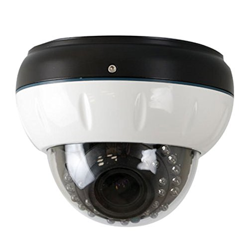 Gw Security Inc Gw-790Wd-Vd 1/3-Inch Sony Ccd Surveillance Security Camera 700 Tv Lines, 2.8 To 12Mm Lens, 24 Ir Leds And 70-Feet Ir Distance