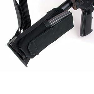BLACKHAWK! M-4 Collapsible Stock Mag Pouch, Black