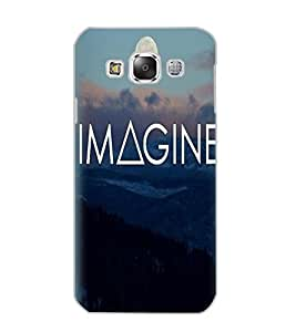 SAMSUNG GALAXY E5 IMAGINE Back Cover by PRINTSWAG