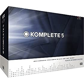 Native Instruments Komplete 5 Software Bundle Collection