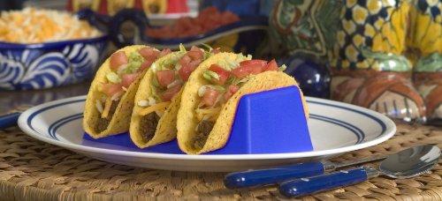 Taco Tenders Taco Holder- Blue