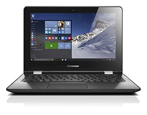 Lenovo 116 inch convertible notebook white intel pentium n3710 256 ghz 4 gb ram 500 gb hdd windows 10