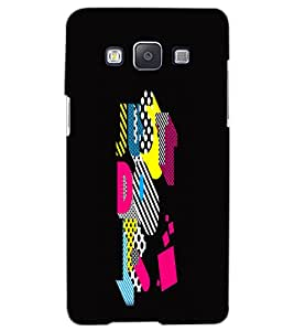 SAMSUNG GALAXY A5 JUST DO IT Back Cover by PRINTSWAG