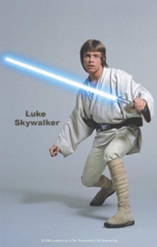 Licenses Products Star Wars Luke Sticker