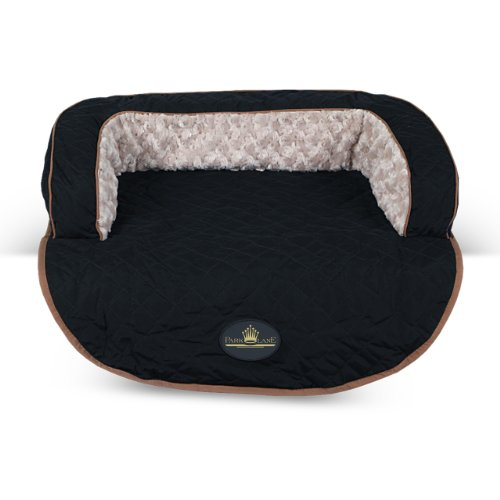 Park Lane Wilton Pet Sofa Bed, Medium, Black