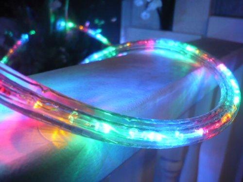 12V Rope Lights; 10ft Multi Color LED Rope Light Kit; Christmas Lighting; outdoor rope lighting