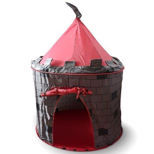 Tenda da Gioco per Bambini Maniero Diametro: 105 cm Altezza: 125 cm Campeggio Giardino