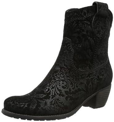 Kennel und Schmenger Schuhmanufaktur Ambra 61-35510.420, Damen Cowboy Stiefel, Schwarz (schwarz), EU 42.5 (UK 8.5)