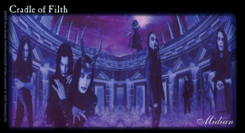 Licenses Products Cradle of Filth Purple Band Sticker