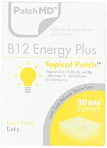 B12 Energy Plus Patch - 30 Day Supply
