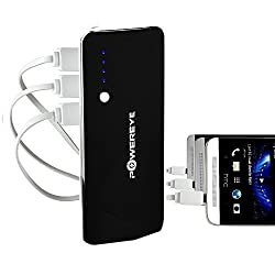 Powereye Portable Travel Mobile Power Bank With 13000mAh