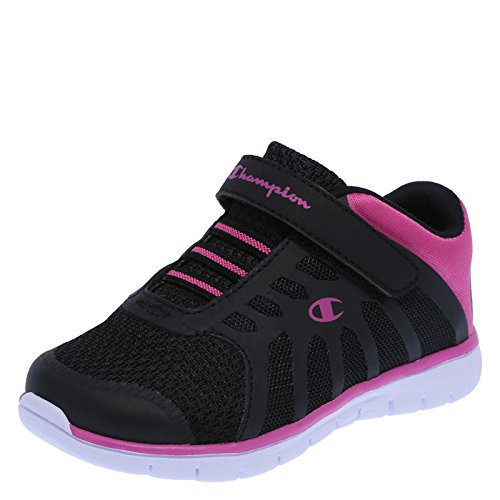 Champion Girl's Black Lightweight Gusto Runner 12 Wide (Champion Kids Shoes compare prices)