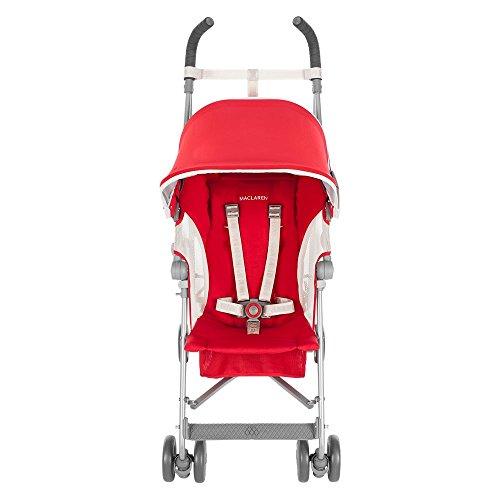 Maclaren globetrotter stroller cardinal red white baby - Silla maclaren amazon ...