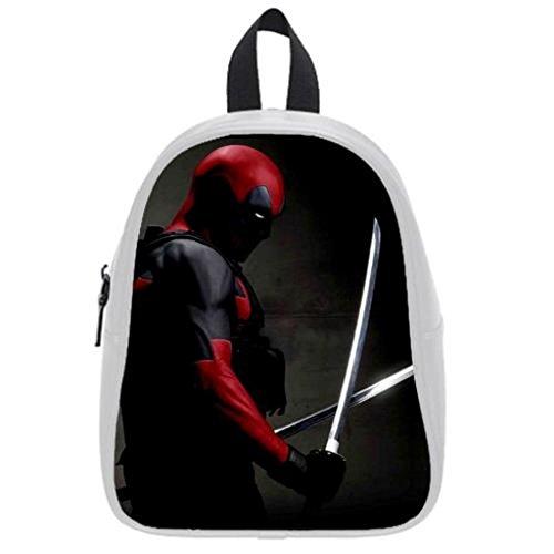 LilyFavor Deadpool Custom Zaino School Borsa(Large)
