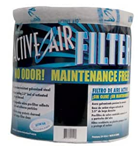 Active Air AC13D12 13-Inch x 12-Inch Carbon Filter - No Flange