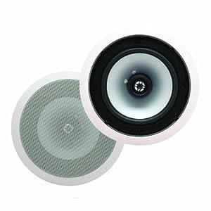 Energy EAS-8C In-Ceiling Speakers (Pair, White)