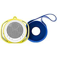 BlueFlame BF4083 Slingshot Bluetooth Speaker - Blue and Green Slings