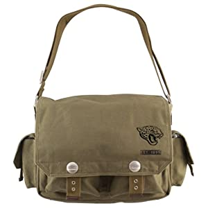 NFL Prospect Messenger Bag, Green by Littlearth