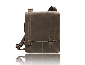 Visconti 16092 Leather Messenger Bag / Cross-body / Shoulder Handbag