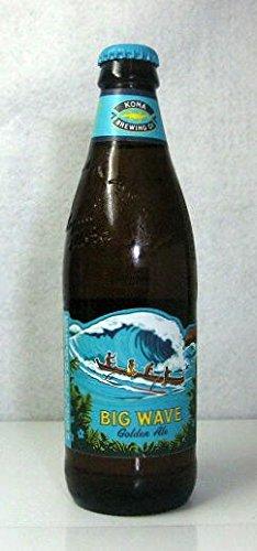 【ハワイのビール】 「コナ ビッグウェーブ ゴールデン エール」355ml