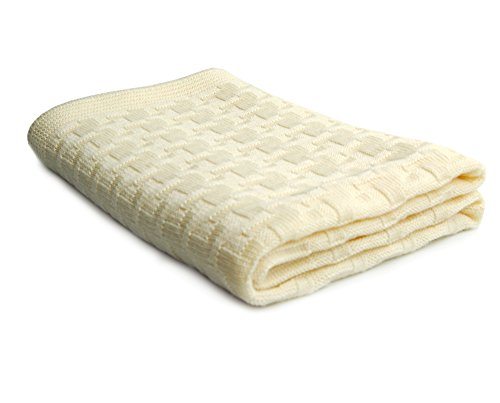 SonnenStrick 100% Organic Merino Wool Baby Blanket Made in Germany - 1
