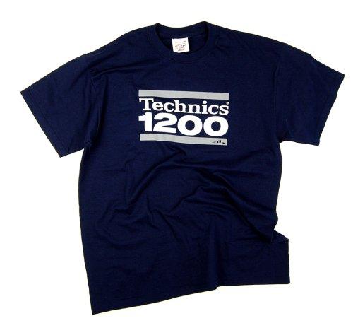 DMC Technics 1200 DJ Mens T-Shirt Black T043S Small