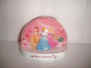 Disney Cinderella & Princess Plastic Snow Globe Waterball by Disney