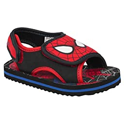 Marvel Toddler Boy\'s Spiderman Sandals - Red (9/10)