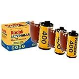 3 PACK Kodak Ultramax 400 Color Print Film 36 EXP. 35MM DX 400 135-36 (108 PICS)