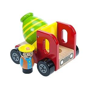 Bigjigs Toys BJ345 Cement Mixer