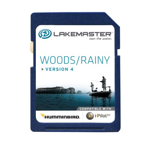 Humminbird 600027-1 Electronic Chart, Woods/Rainy