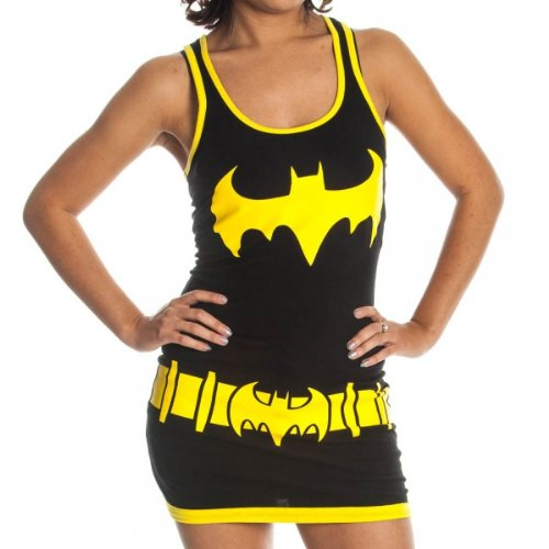 Batman Womens Tank Dress Costume
