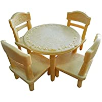 Lovely Play House Toys Simulation Furniture Sets Toys Tables And Chairs Set