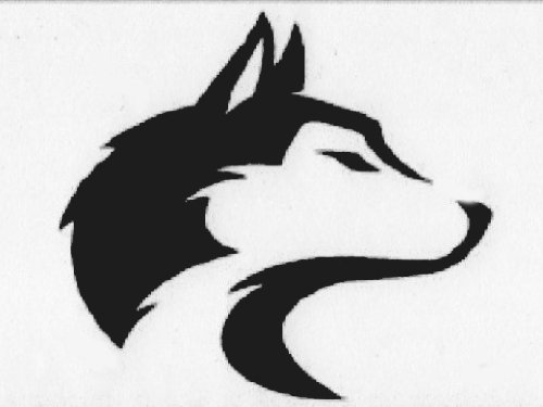 HUSKY DOG Vinyl (Car Quality) STICKER/DECAL