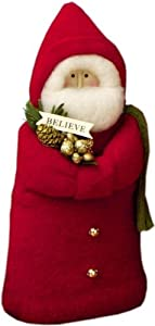 Fabric Father Christmas Figure