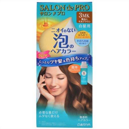 サロンドプロ ワンプッシュ泡のヘアカラー 3MK