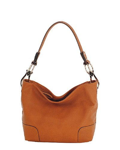 Simple Classic Everyday Hobo/Handbag - Camel