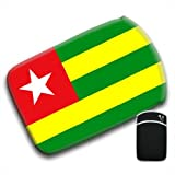 Togo Flag For Amazon Kindle Fire & Kindle 3G Keyboard Soft Protection Neoprene Case Cover Sleeve Bag With Pocket which is Ideal for Headphones, Data Cable etc