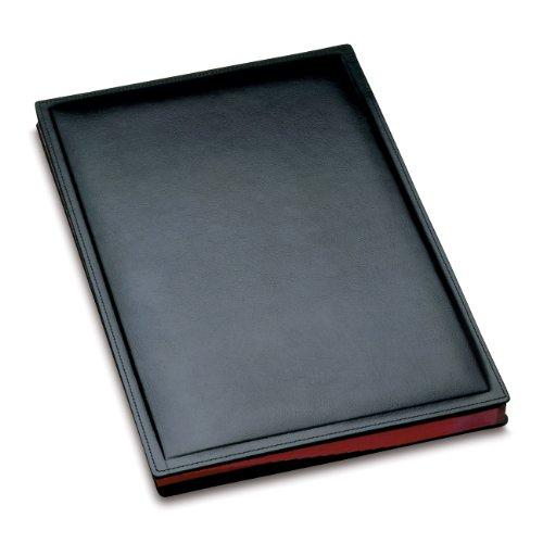 Läufer 34826 - Ambiente MONZA Unterschriftenmappe, 24 x 33,5 cm, schwarz
