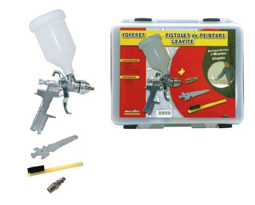 mecafer-161132-mallette-pistolet-peinture-a-gravite-600-ml-accessoires
