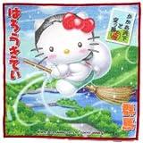 【ご当地キティ】 群馬限定 かかあ天下と空っ風キティ プチタオル