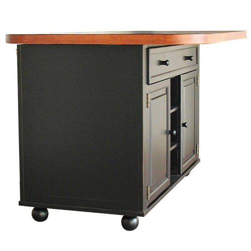 Cheap julian kitchen island with sliding ceramic tile top kitchen