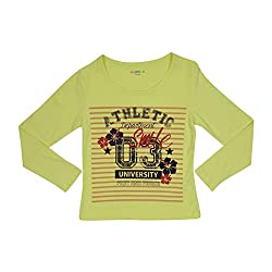 Poppers by Pantaloons Girl's T-Shirt_Size_9-10 YRS