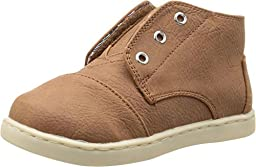 TOMS Kids Unisex Paseo Mid (Infant/Toddler/Little Kid) Brown Synthetic Leather Sneaker 11 Little Kid M