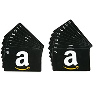 Amazon.com Gift Cards, Pack of 20 cards - Free One-Day Shipping