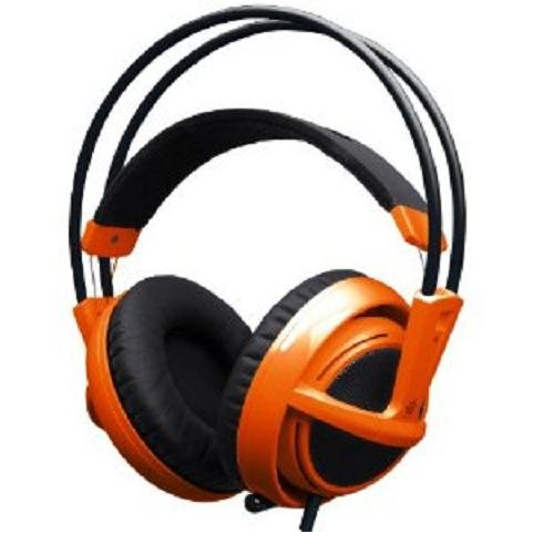 ヘッドホン おしゃれ SteelSeries Siberia v2 Full-size Headset (Orange) 51106をおすすめ