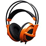 SteelSeries ゲーミングヘッドセット Siberia v2 Full-size Headset (Orange) 51106
